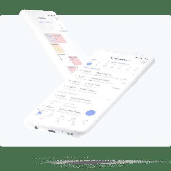 app de agendamento setmore android
