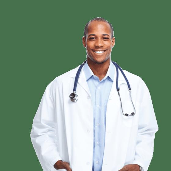 Doctora usando setmore para citas