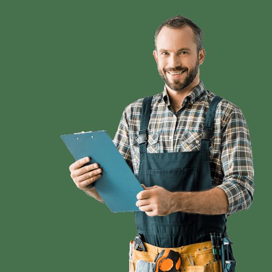 Un professionnel de la réparation à domicile