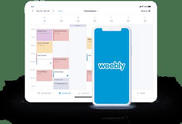 integración de la página de reserva de setmore con weebly